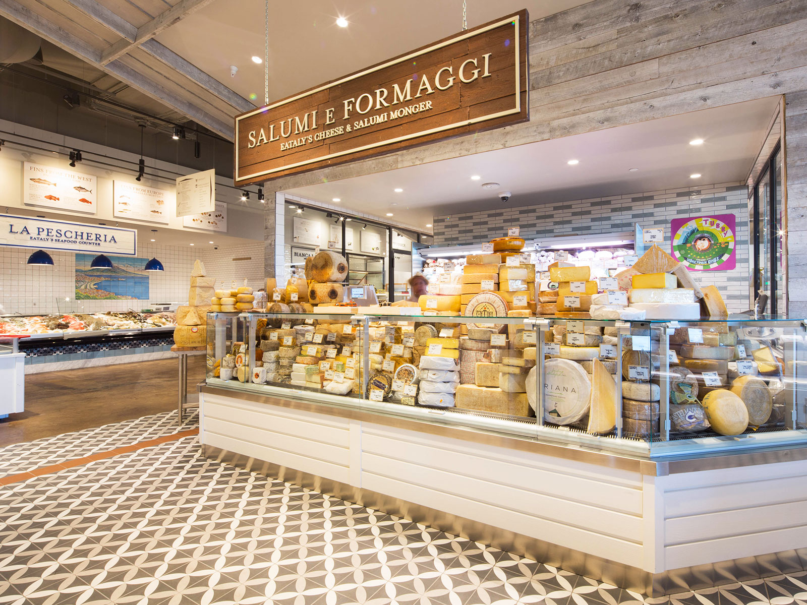 cheese in eataly opening in Los Angeles