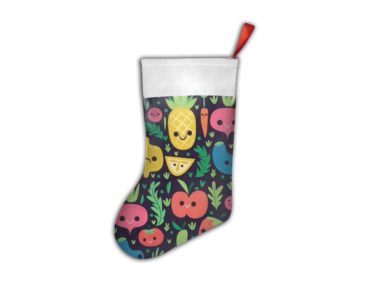 fruit and veggies stocking