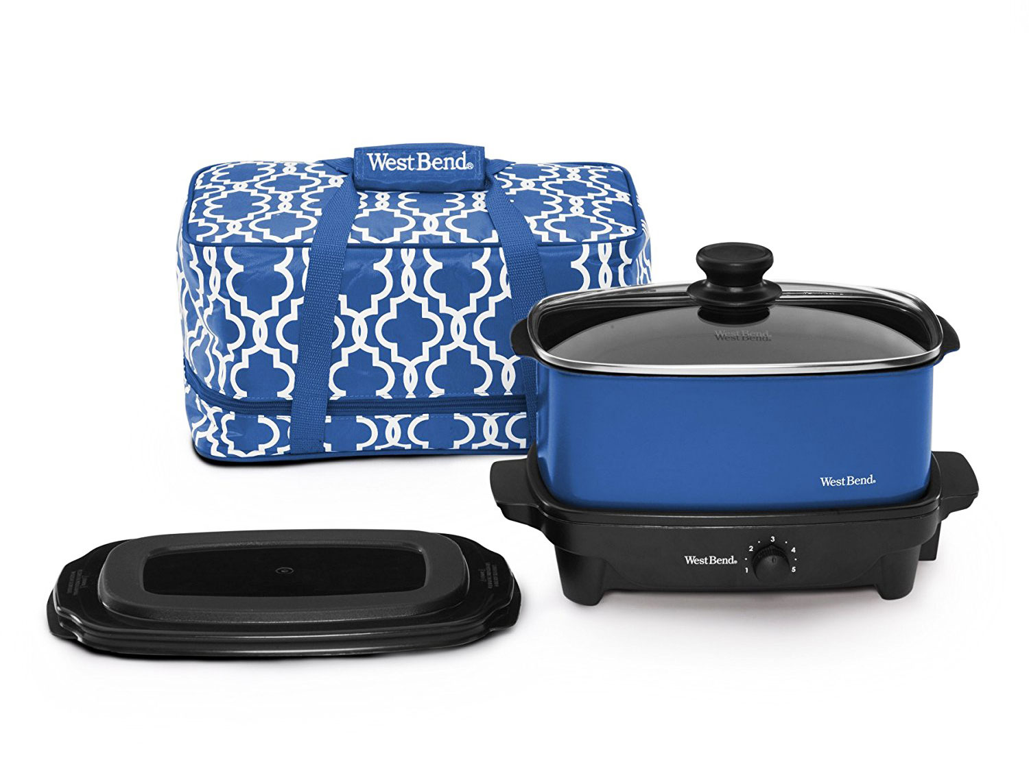 slow cooker and travel bag