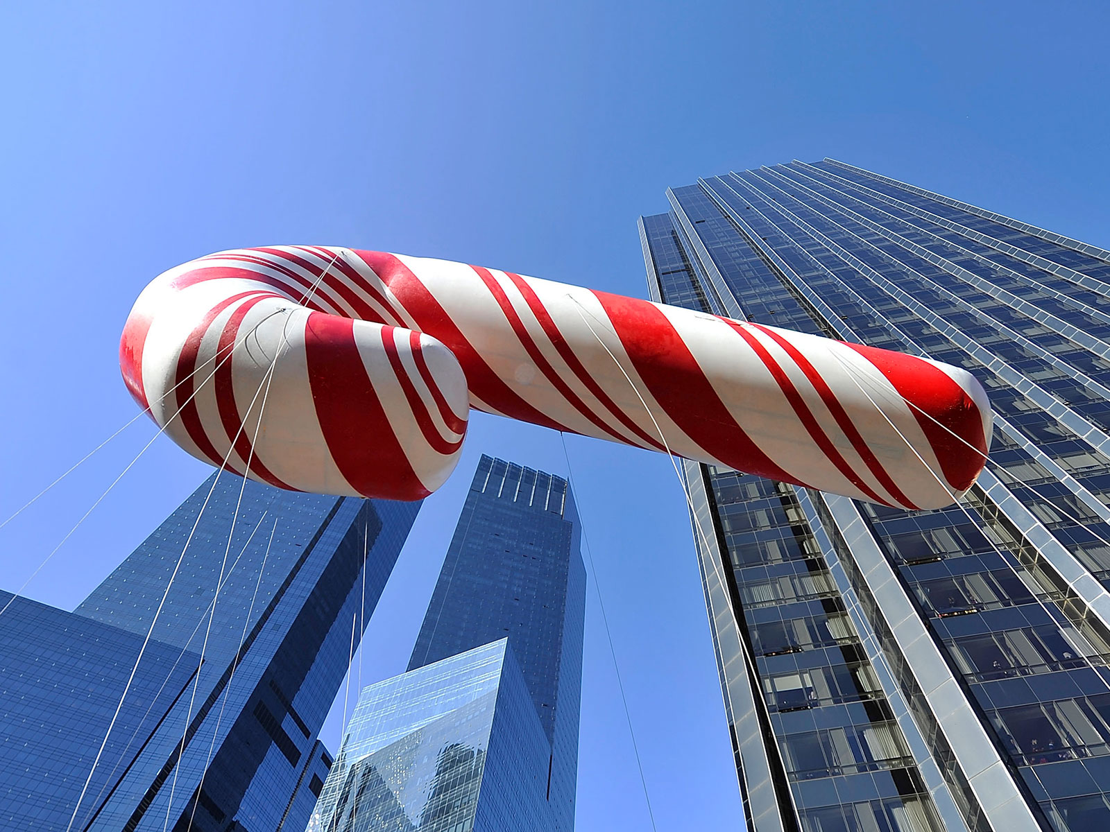 candy cane float new york city