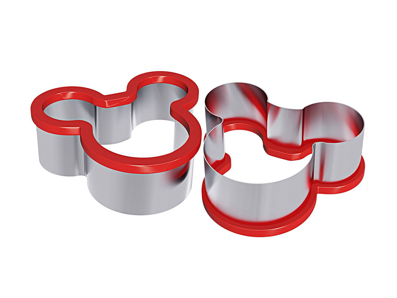 mickey mouse shaped cookie cutters