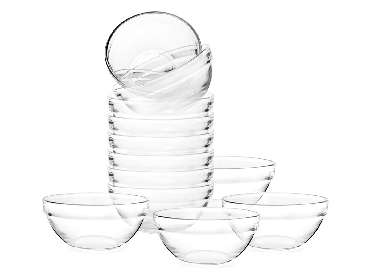 glass mixing bowls