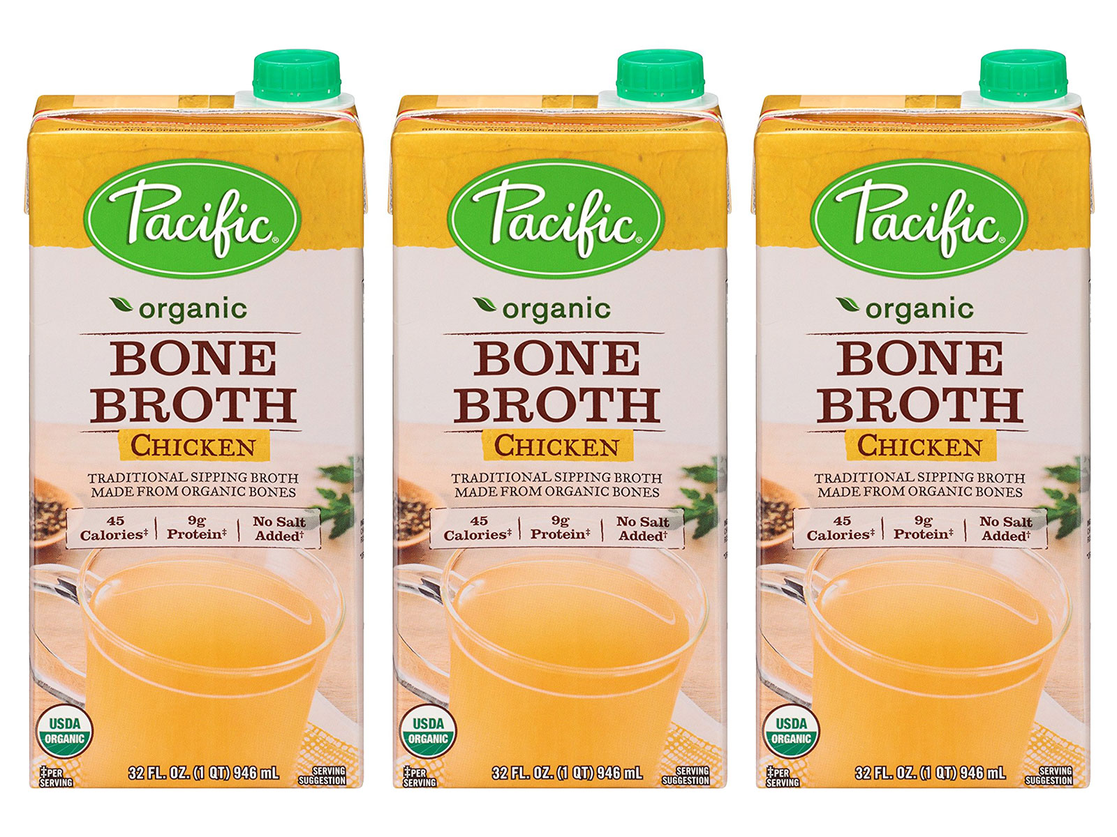 organic bone broth from pacific