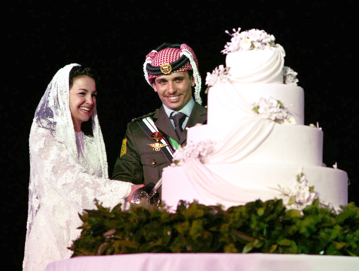 Crown Prince Hamzah Bin Al Hussein wedding cake
