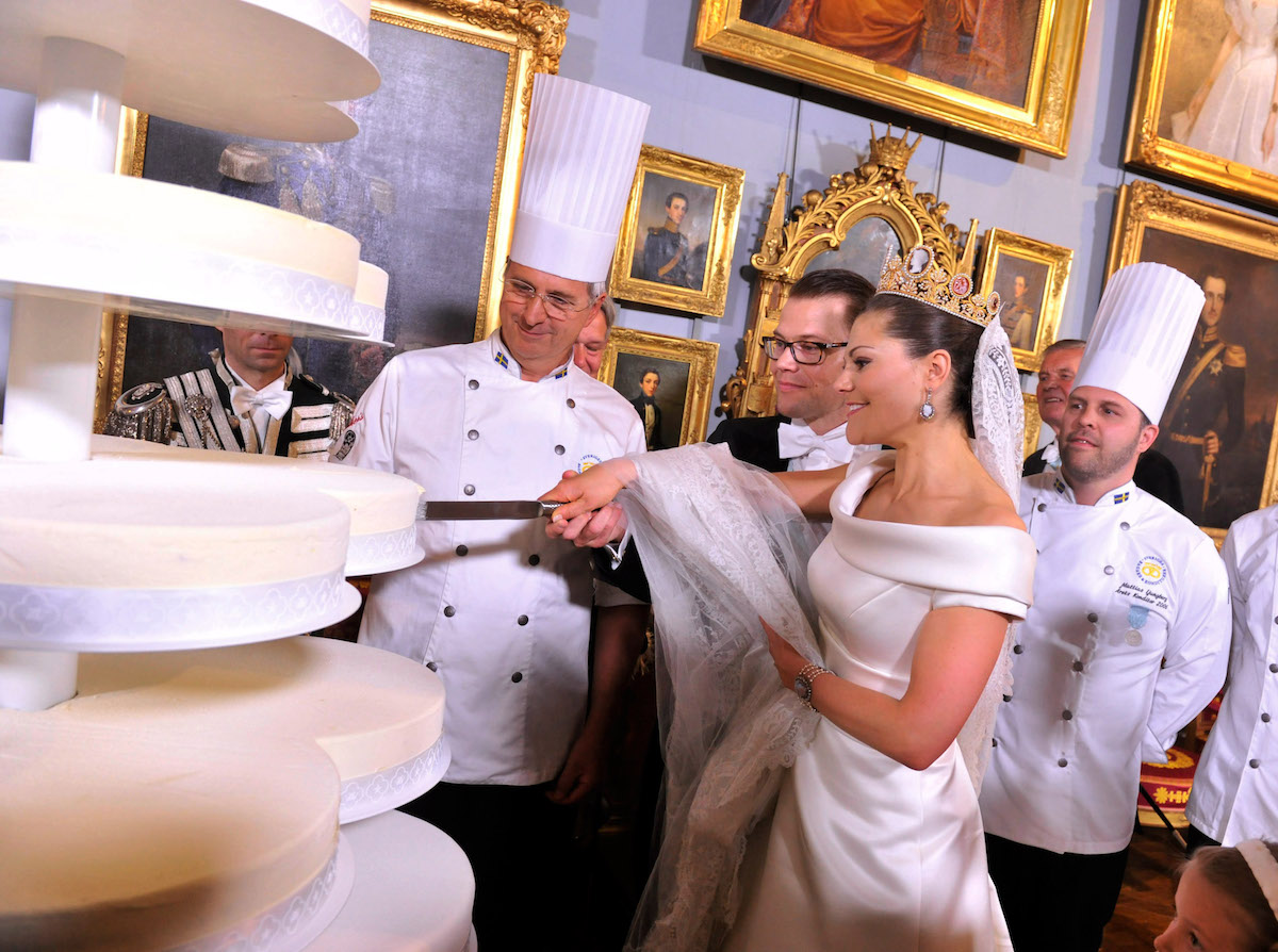 Crown Princess Victoria of Sweden wedding cake