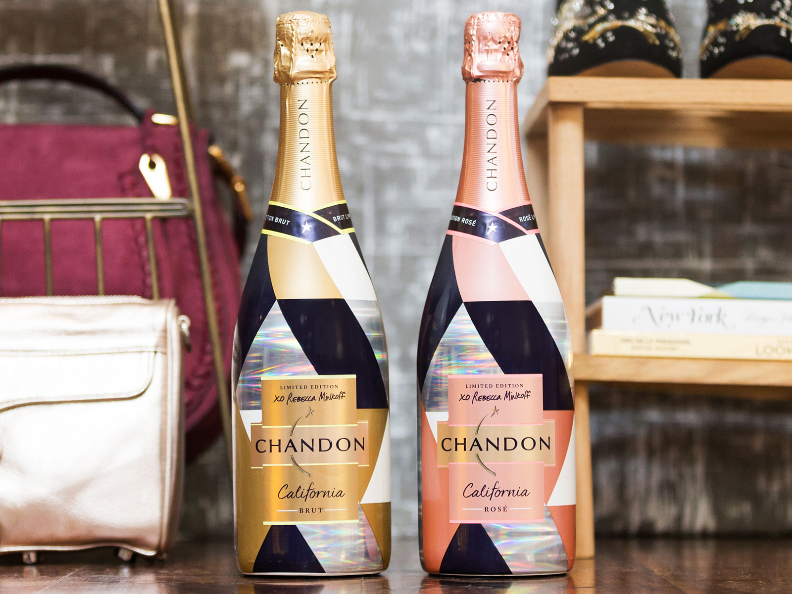 chandon california brut and rose