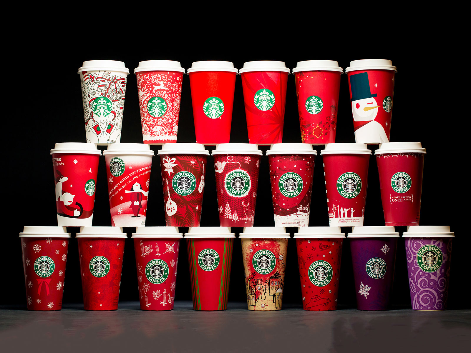 every holiday cup ever