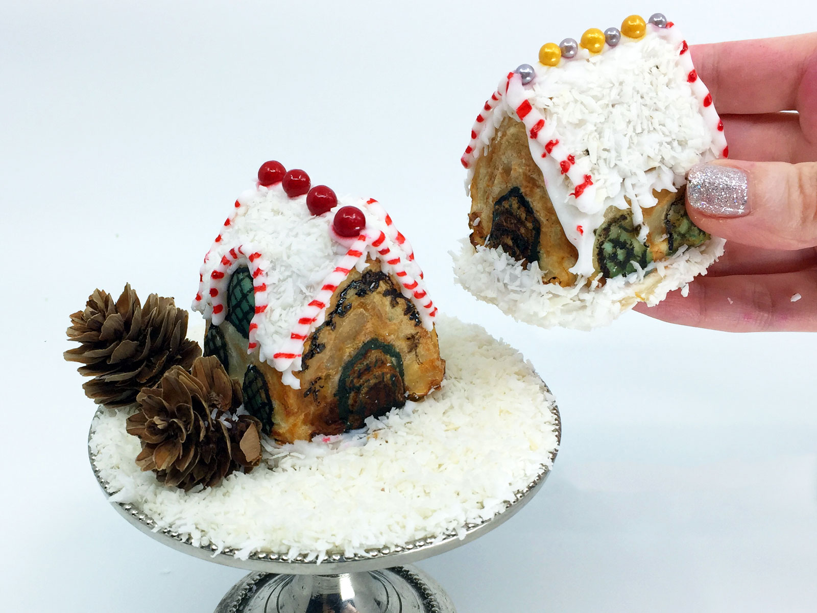 Gingerbread House Hand Pies