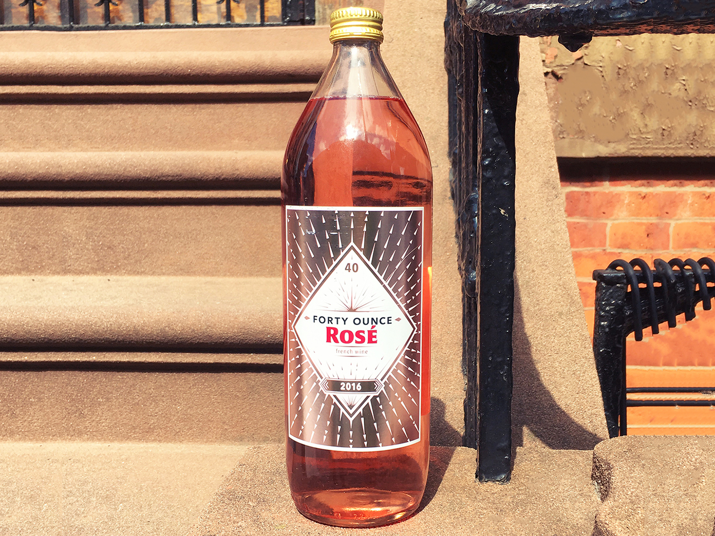 Forty ounces to rosé freedom