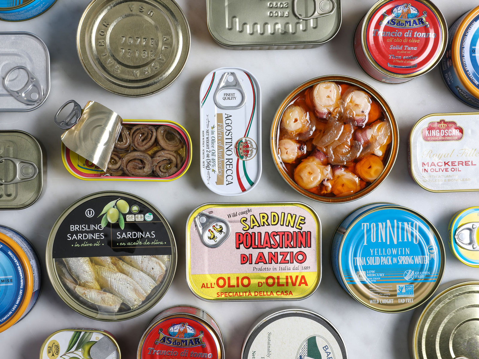 Feast of the Seven Canned Fishes