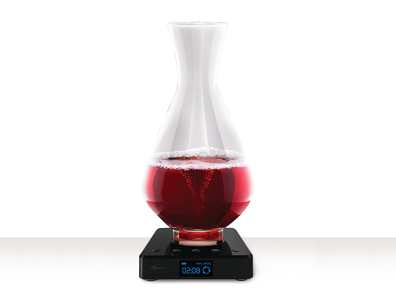Self-Swirling Wine Decanter