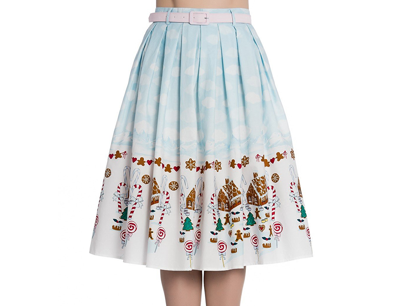 Gingerbread Flare Skirt