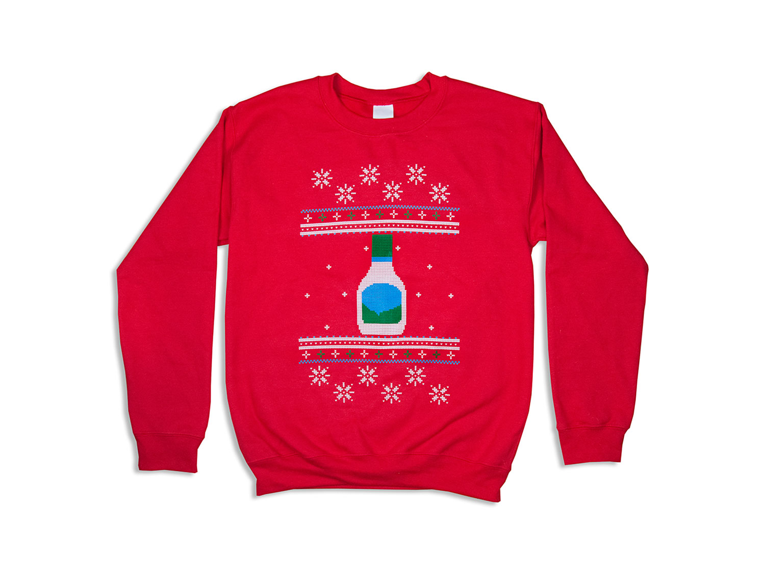 christmas sweater with ranch