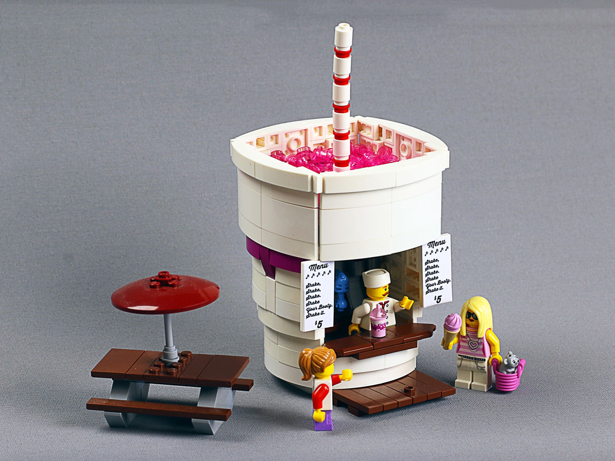 lego ideas food diners
