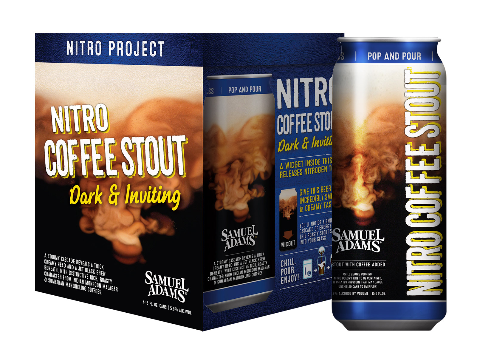 sam adams nitro coffee
