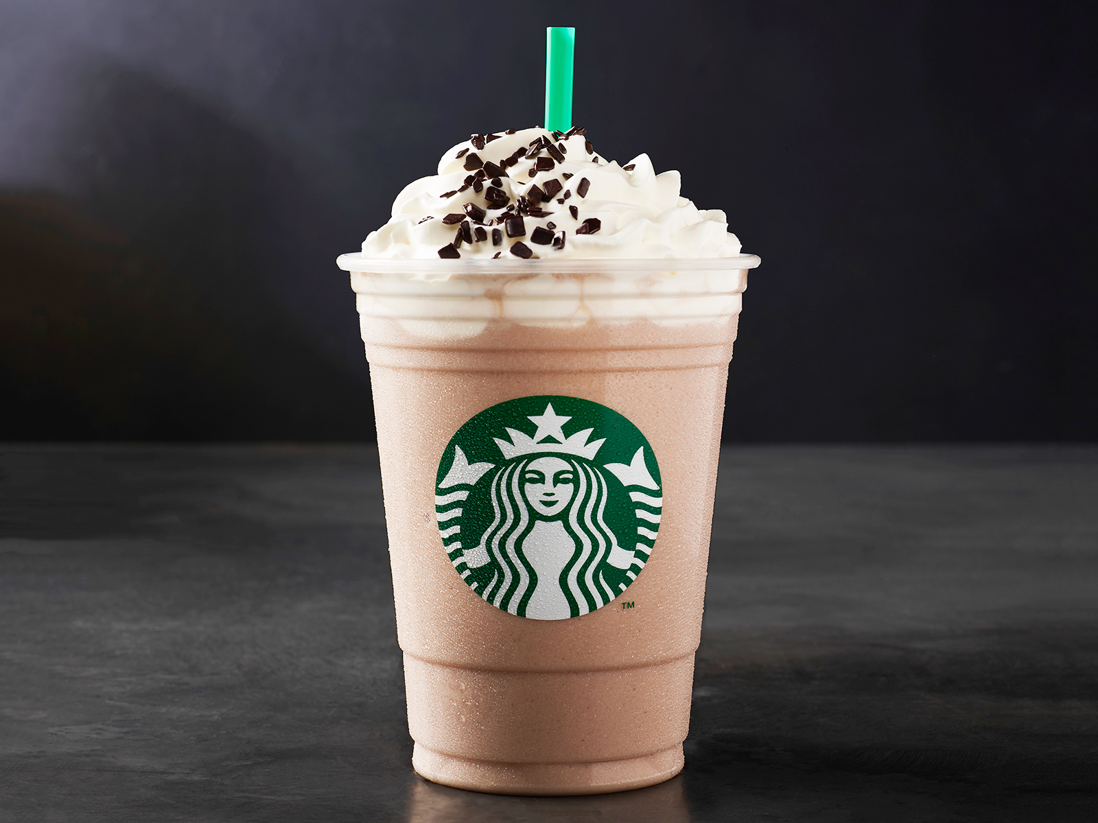 black and white mocha frappuccino