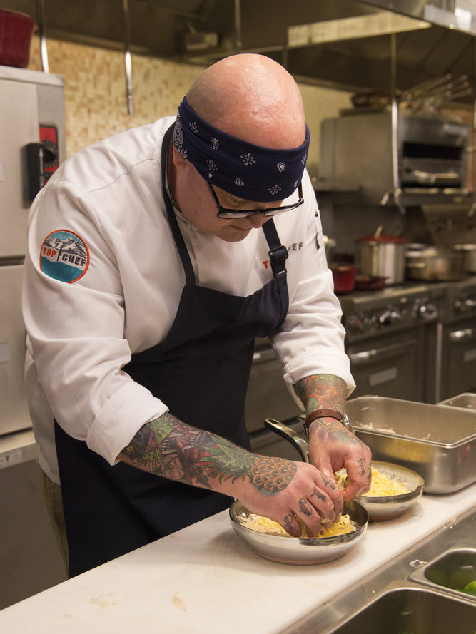 Tyler Anderson on Top Chef