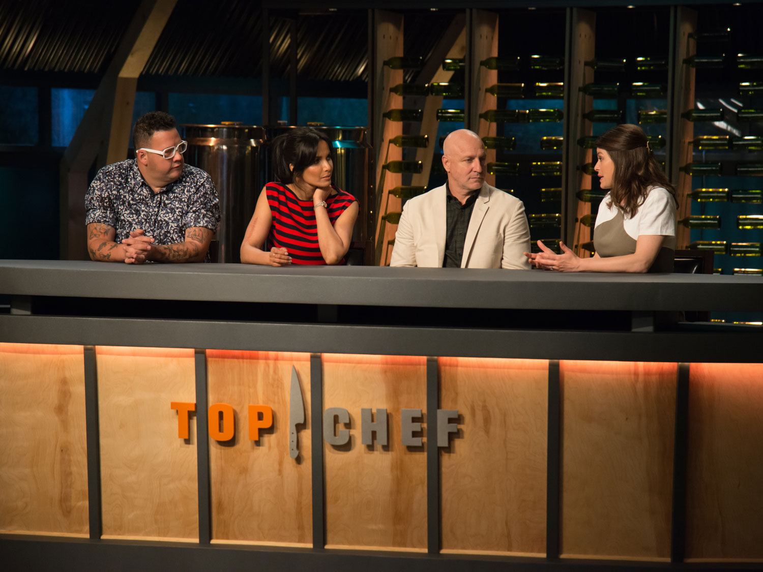 season 15 premiere of Top Chef