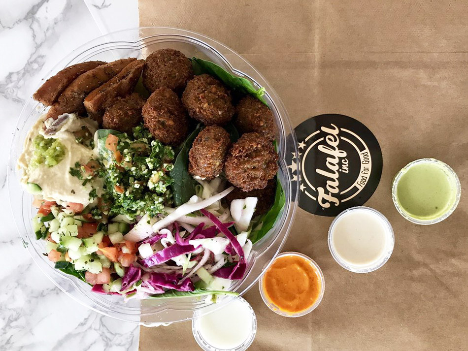 falafel inc in DC