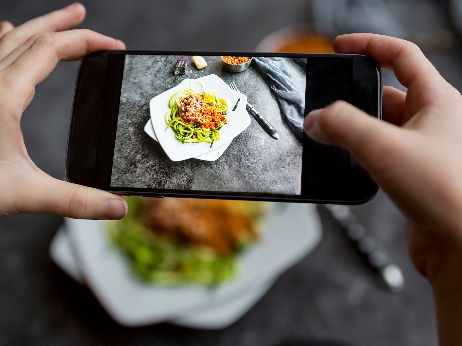 how to be a food instagrammer