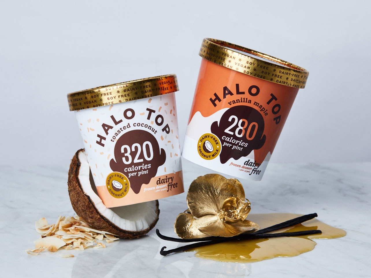 Toasted Coconut Halo Top