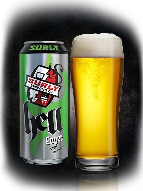Hell beer Surly Brewing Co.