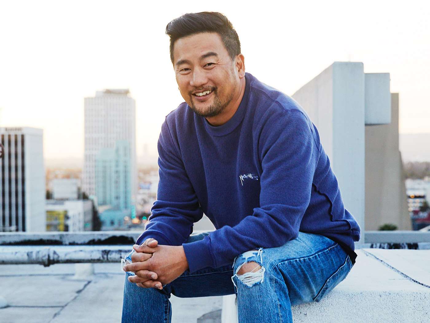 chef roy choi seated