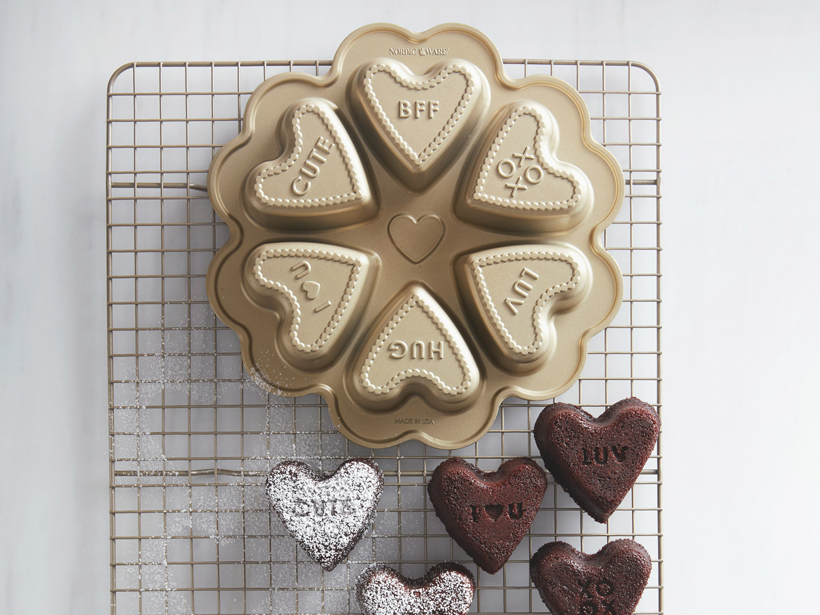 cake pan for valentines day