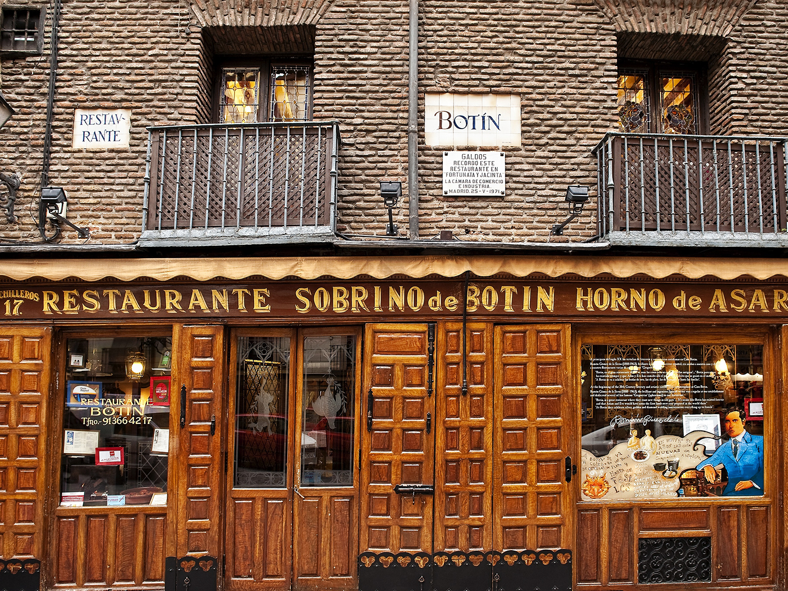 spain has the oldest restaurant in the world