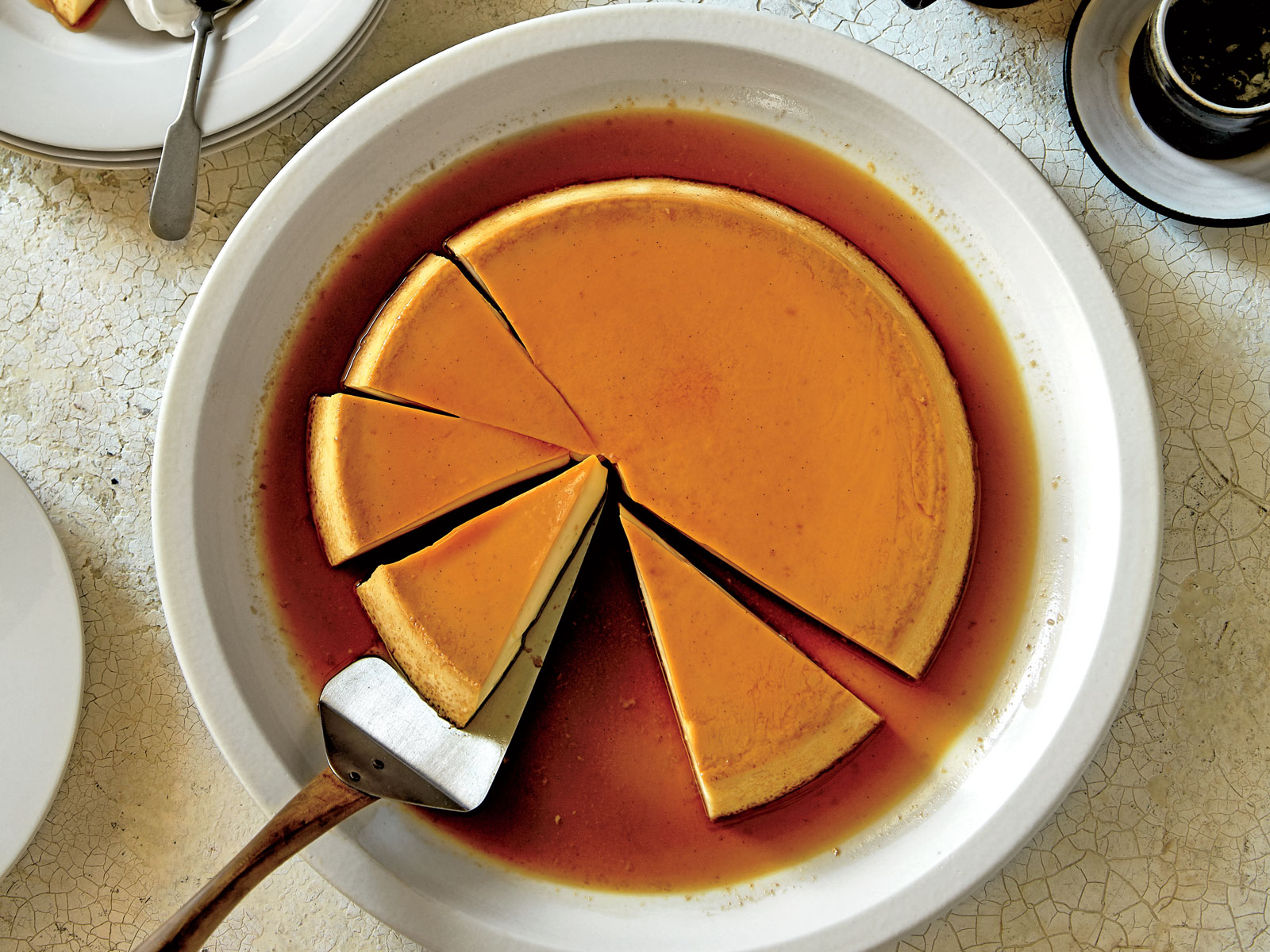 Burnt Caramel Flan