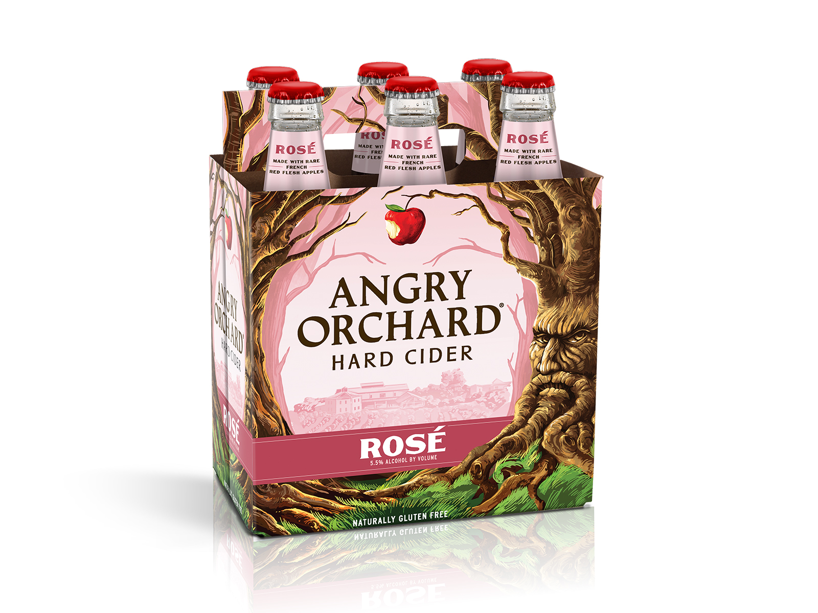 angry orchard new rose hard cider