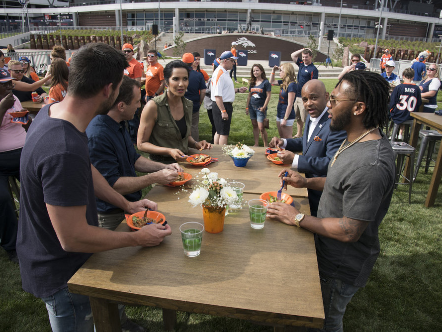 The Denver Broncos on Top Chef