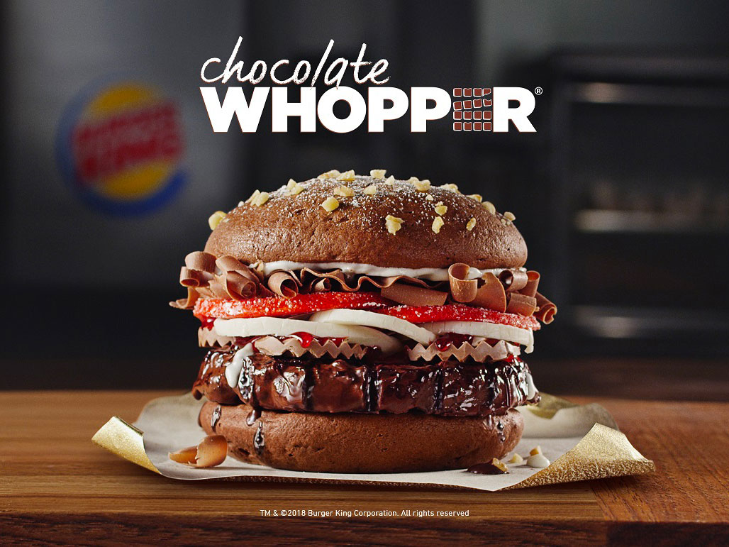 Chocolate Whopper
