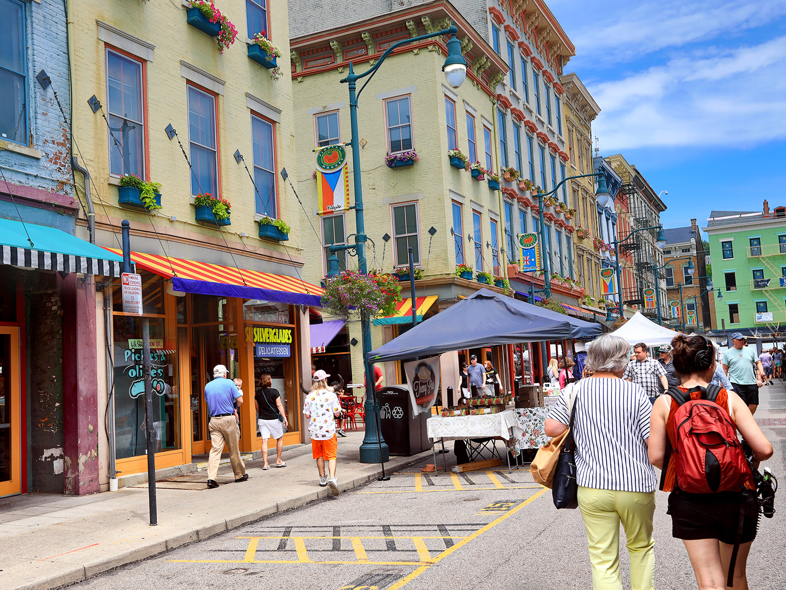 street shops and markets in cincinnati