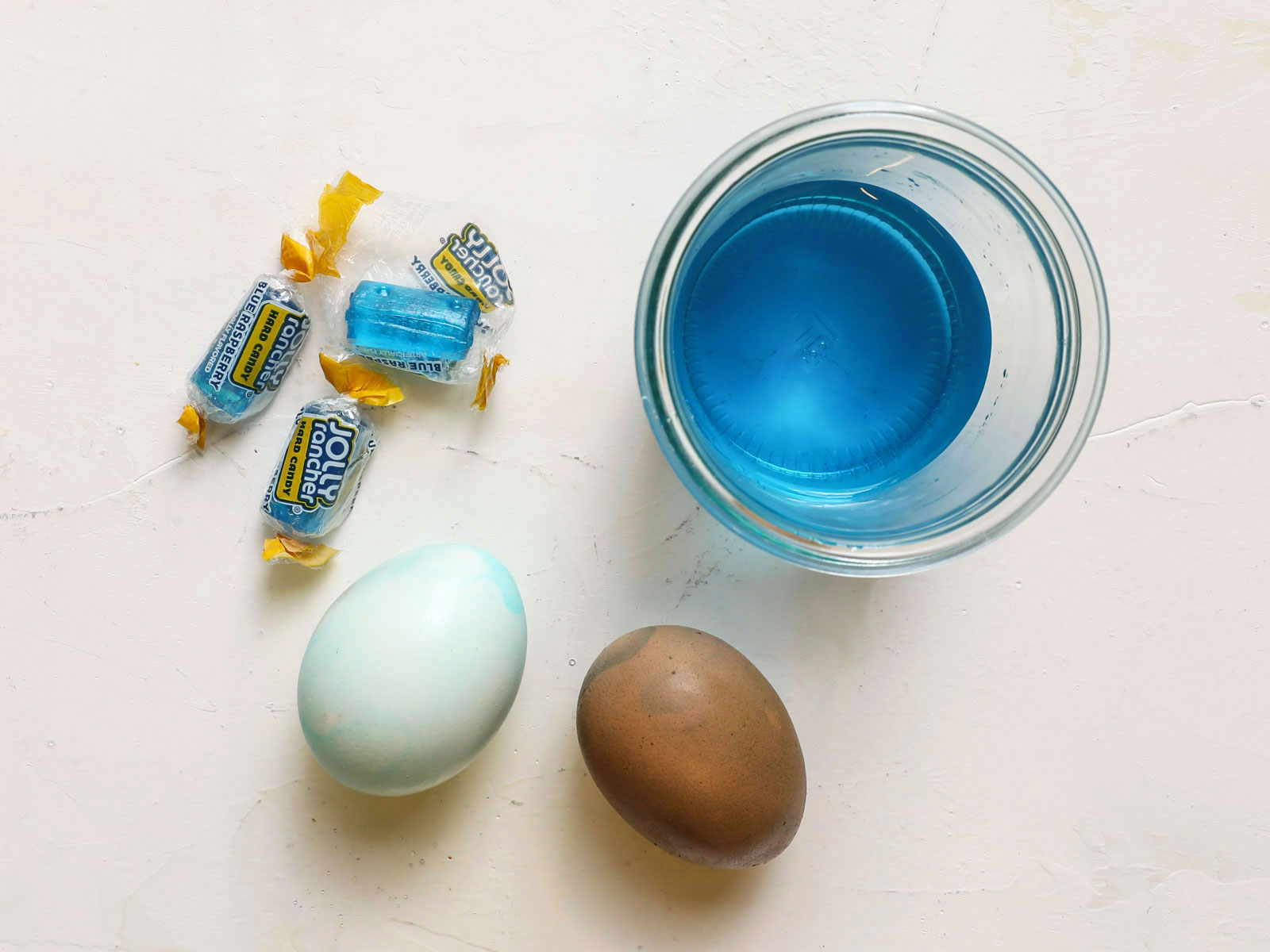 Jolly Ranchers Easter Egg Dye