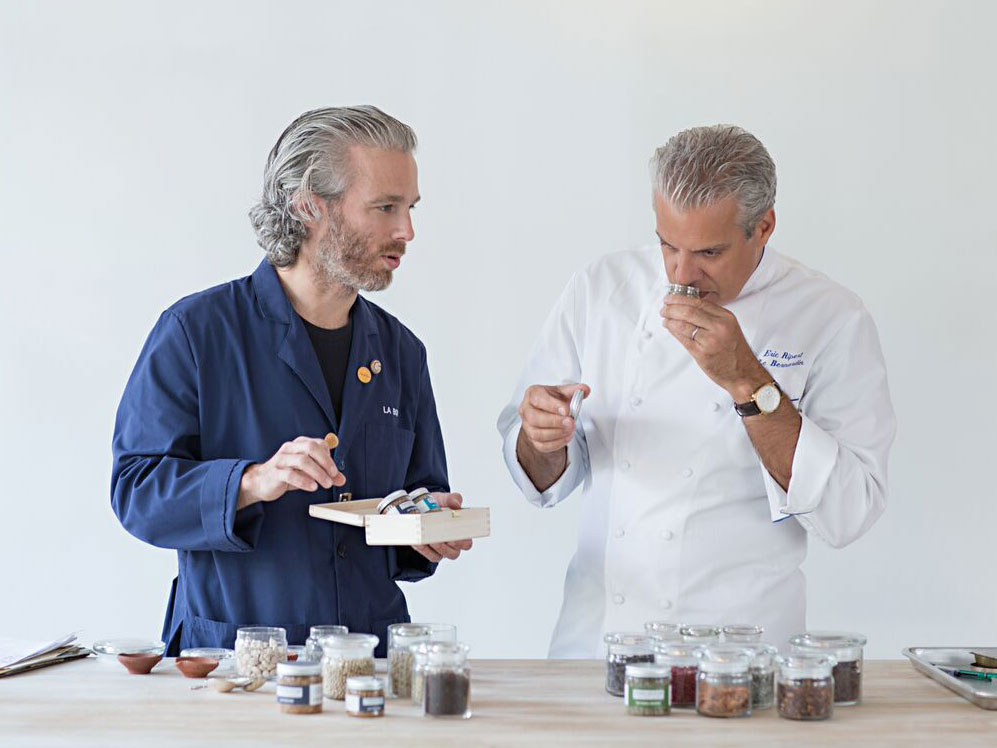 Eric Ripert and Lior Lev Sercarz