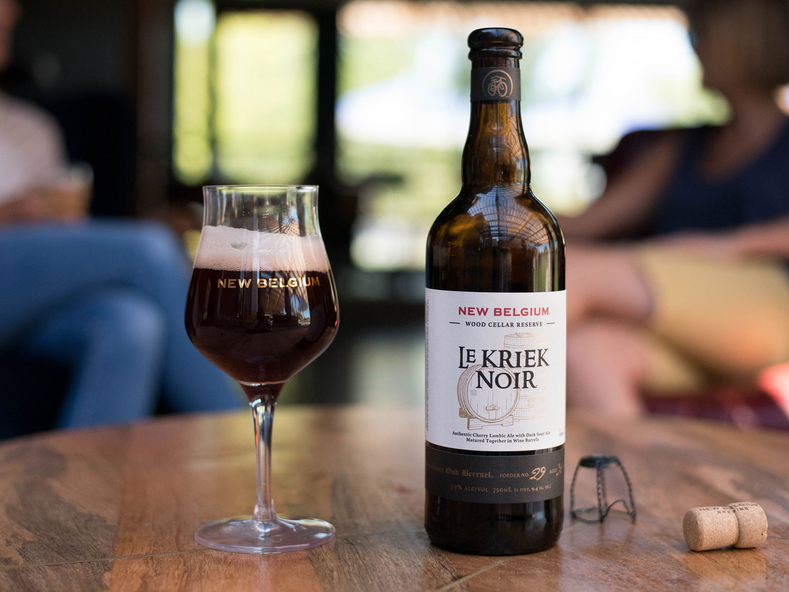 New Belgium Brewing's Le Kriek Noir
