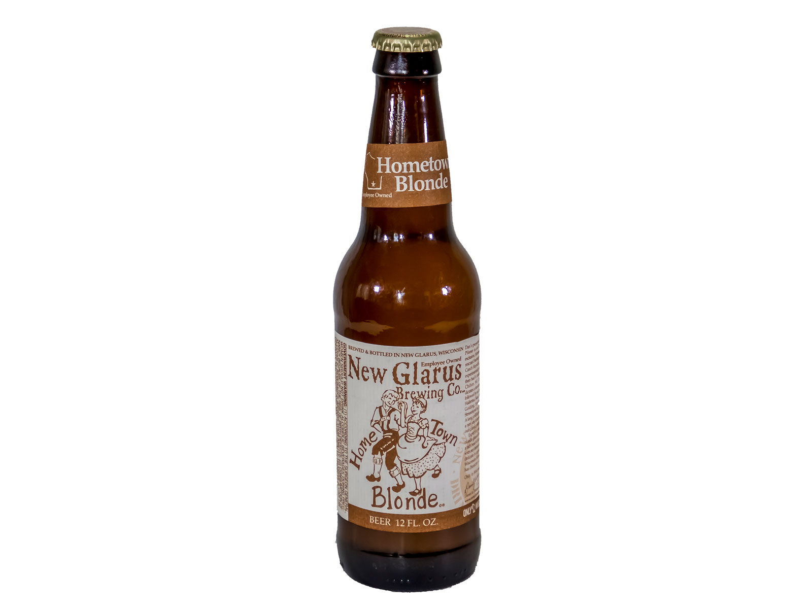 Hometown Blonde by New Glarus Brewing Company