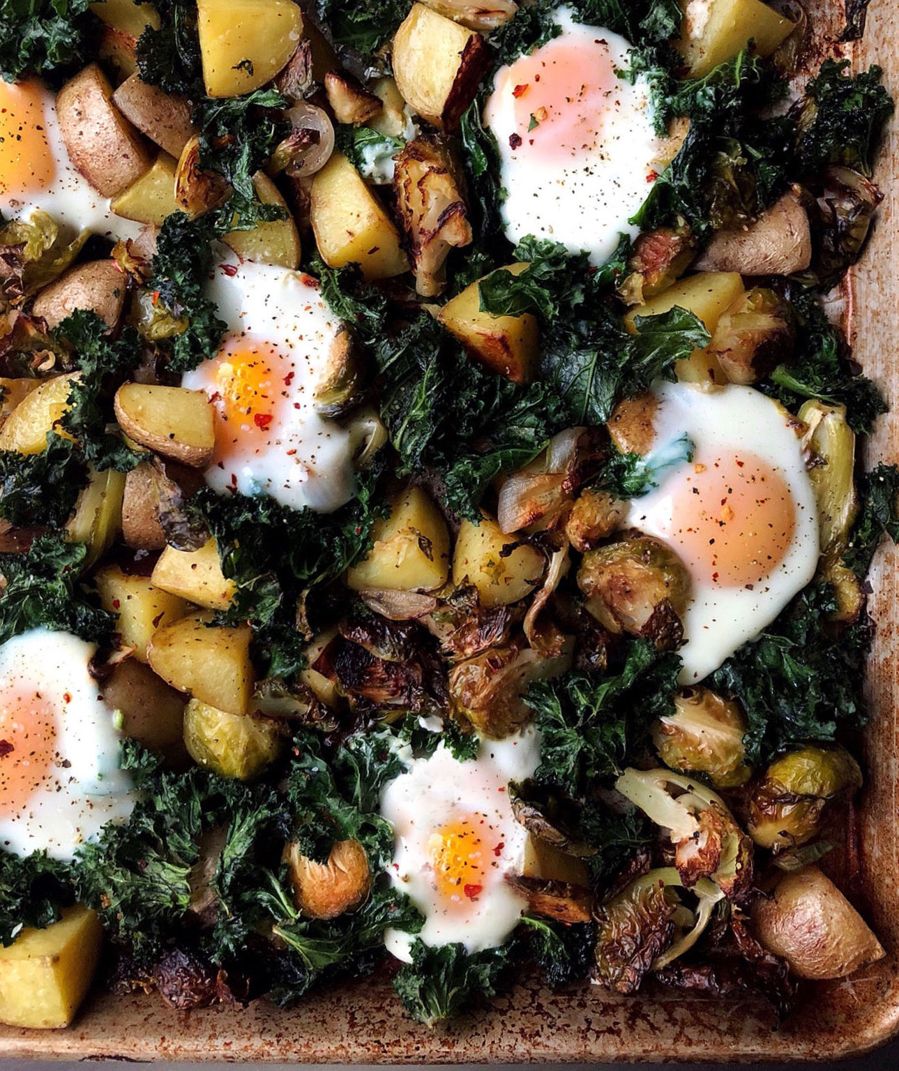 The Sheet Pan Brunch I Can't Ever Resist (and It's Perfect for Lazy Weekends)