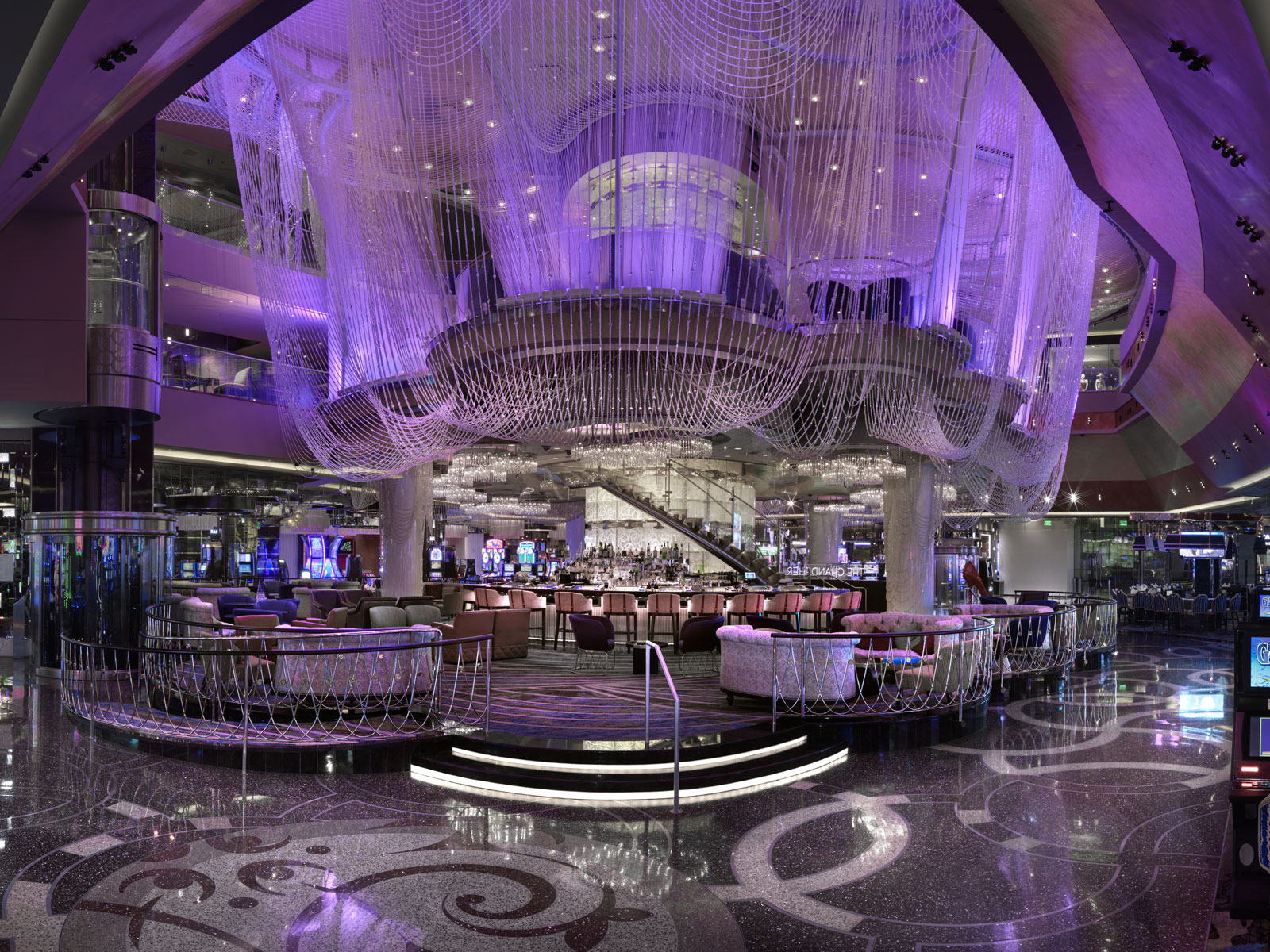 The Chandelier at The Cosmopolitan of Las Vegas