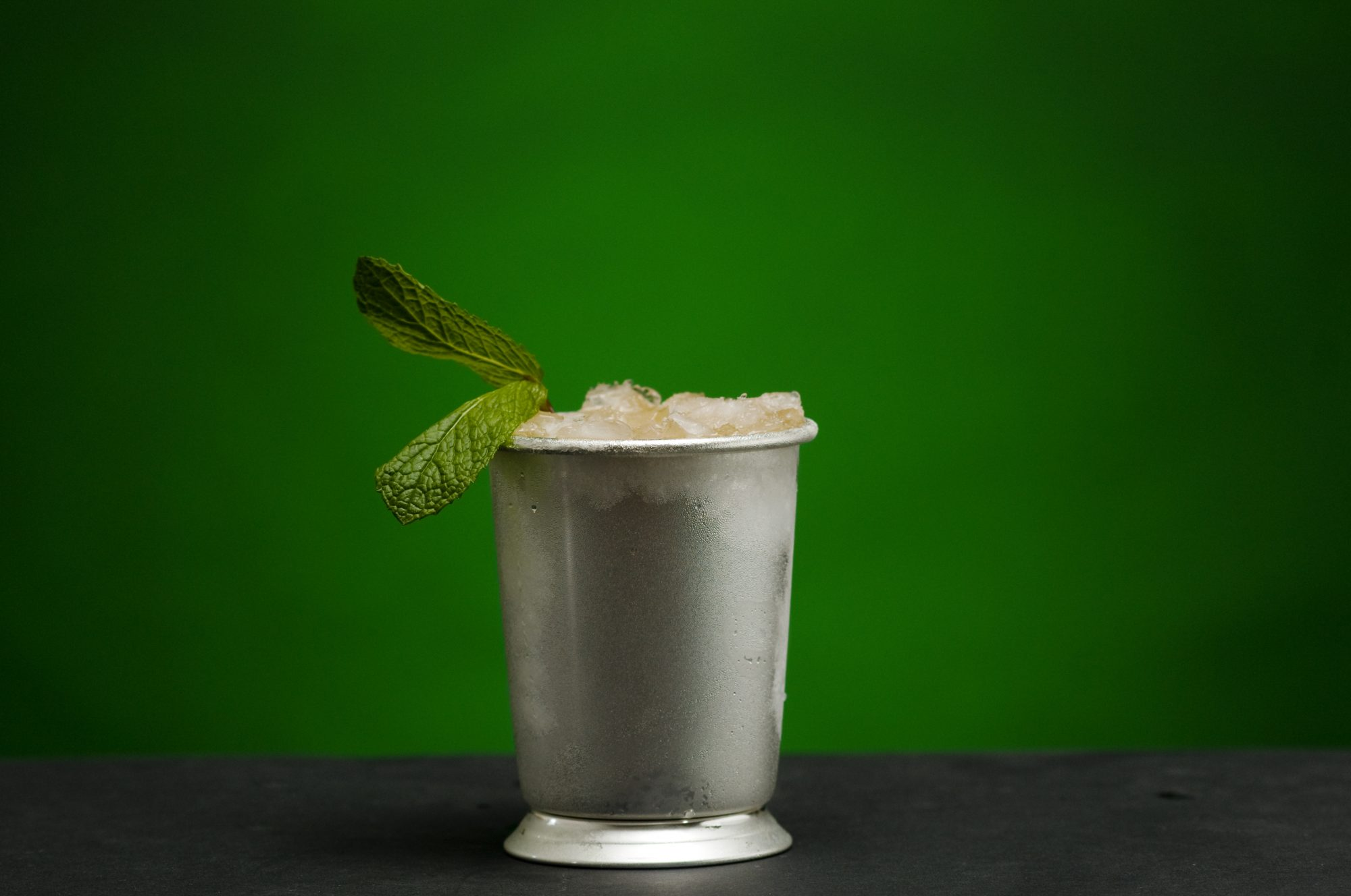 Mint julep crushed ice tips