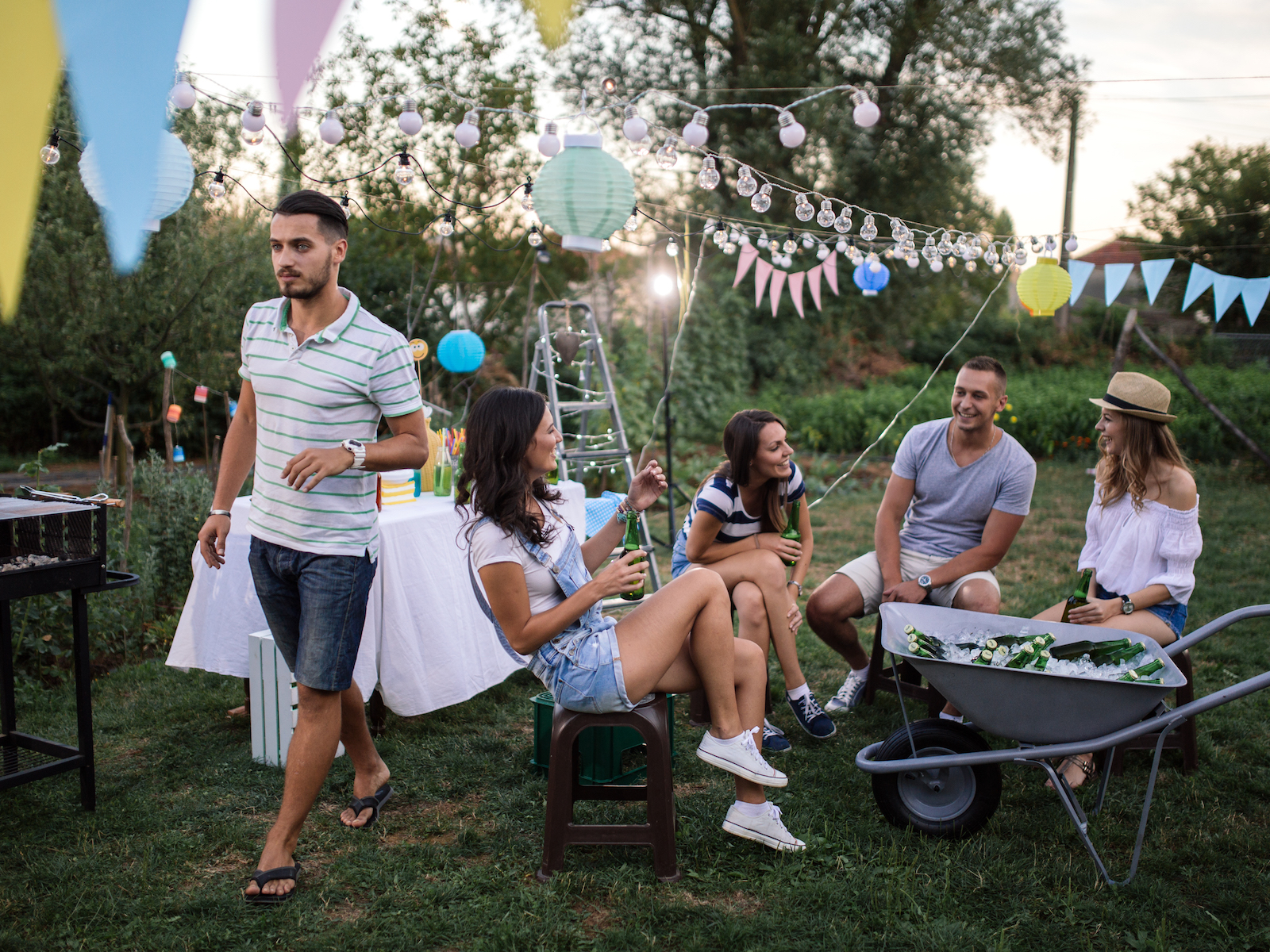 Outdoor party appliances