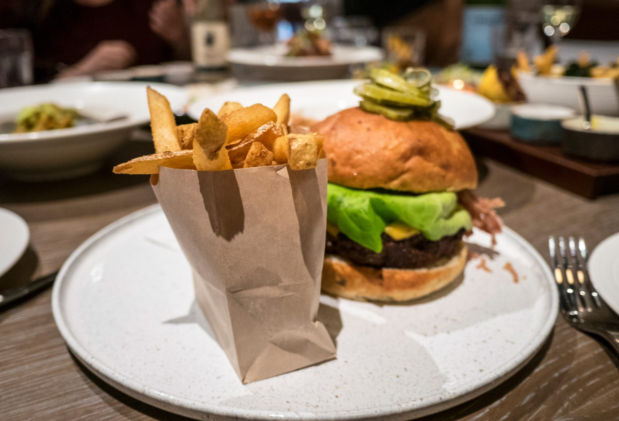 burger at rider in seattle
