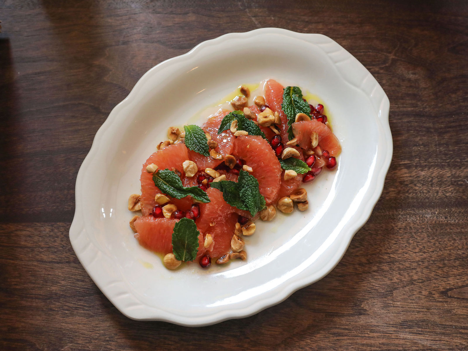 Grapefruit-Pomegranate Salad