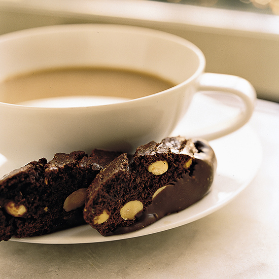 Chocolate-Nut Biscotti