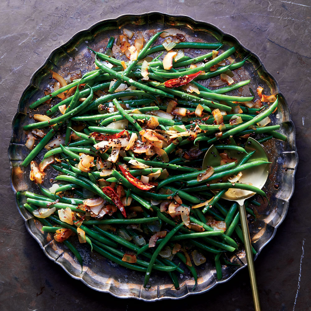 Caramelized Coconut Green Beans