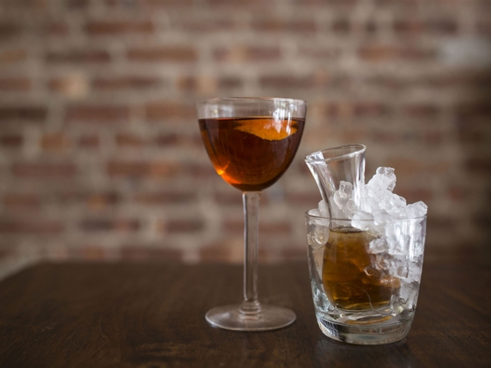 Sherry and tequila cocktail