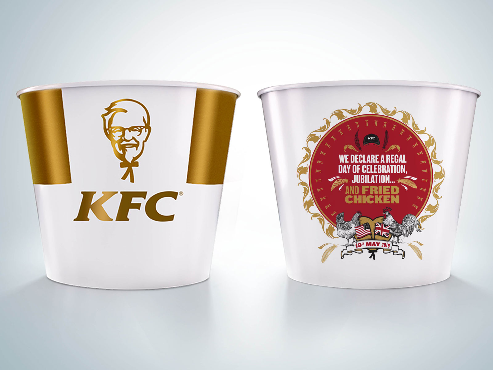 KFC Royal Wedding Bucket