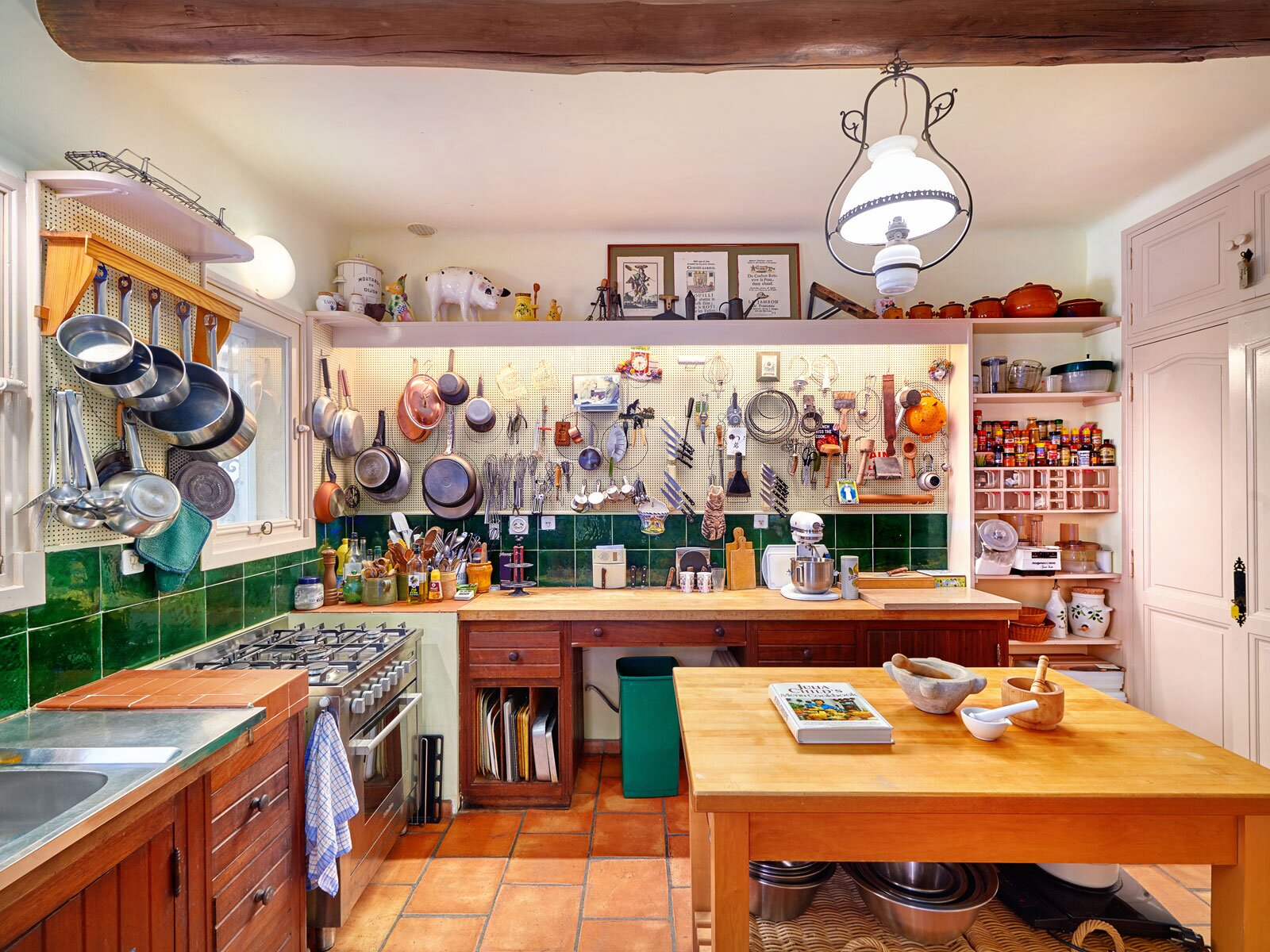 Inside The Cooking School At Julia Child S Summer Home Food Wine