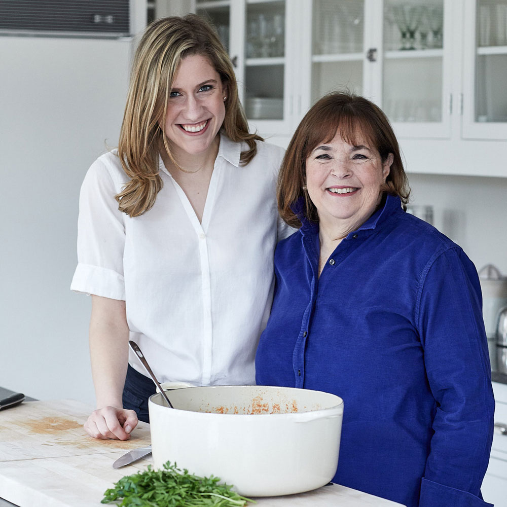 Lidey Heuck and Ina Garten